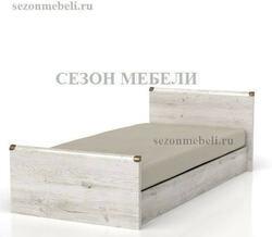 Кровать Индиана JLOZ 90/ JLOZ160x200 сосна каньйон
