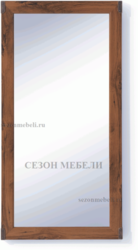 Зеркало Индиана JLUS 50 дуб