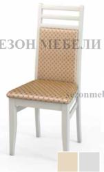 Стул М12 белая эмаль ткань 39