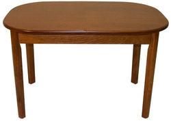 Стол обеденный овальный ВМ30 (коньяк)