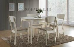 Обеденная группа (стол TS Enzo и стулья Marcello 2 MR-SC2)