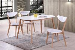 Обеденная группа (стол Max и стулья Maxi) натуральный