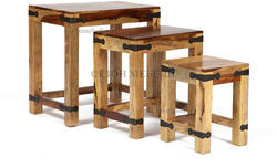 Набор табуреток-столиков Бомбей SAP-0077