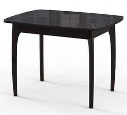Стол М15 ДН4 (Венге+Черное стекло)
