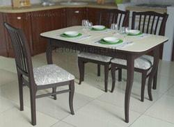 Обеденная группа Kenner (стол 1200С со стеклом и стулья 103С)