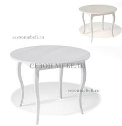 Стол Kenner 1000C со стеклом