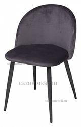 Стул DISCO G062-40 серый, велюр