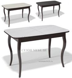 Стол Kenner 1200C Венге со стеклом