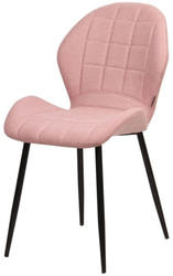 Стул FLOWER PK-07 розовый, ткань микрофибра
