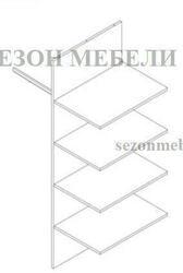Комплект деталей корпуса шкафа Малкольм SZF2D2S