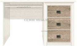 Стол письменный Коен BIU/130 ясень снежный/ сосна натуральная