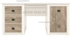 Стол письменный Коен BIU/170 ясень снежный/ сосна натуральная