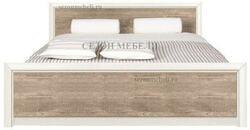 Кровать Коен LOZ140/160/180x200 ясень снежный/ сосна натуральная