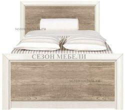 Кровать Коен LOZ 90х200 ясень снежный/ сосна натуральная