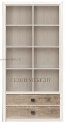 Стеллаж Коен REG2S/103 ясень снежный/ сосна натуральная