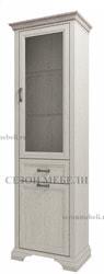 Шкаф с витриной Монако (Monako) 1V1D1S (возможна подсветка)