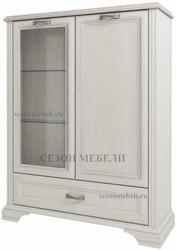 Шкаф с витриной Монако (Monako) 1V1D1SL (возможна подсветка)
