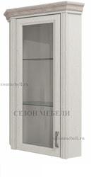 Шкаф с витриной угловой Монако (Monako) 1VU (возможна подсветка)
