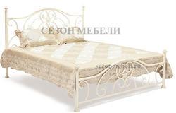 Кровать Elizabeth (Элизабет) ан.9701 античный белый