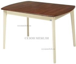 Стол JIN E-HR3248R CREAM+OAK