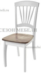 Стул JIN D-2092D(W) (White+G.Washed)