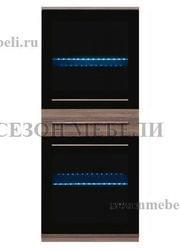 Шкаф настенный Лайк (Like) SFW2W1S_14_6 (с подсветкой)