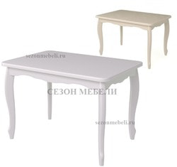 Стол Манул (белый/ слоновая кость)