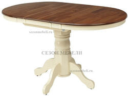 Стол JIN E-R3242R (Cream+Oak)