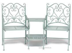 Комплект Tet-a-Tet (mod. PL08-34283B) (столик+ 2 кресла)