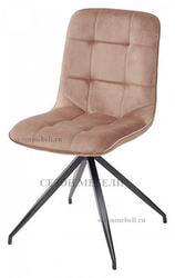 Стул RIMINI светло-коричневый, велюр G108-75