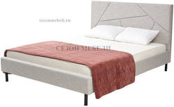 Кровать SWEET VALERY 160*200 ткань Stone 1A