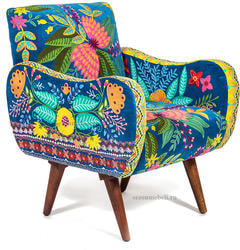 Кресло Sondrio (blue/green)