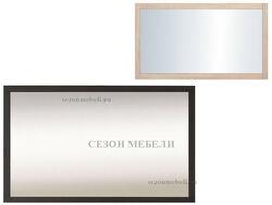 Зеркало Каспиан LUS/100 дуб сонома