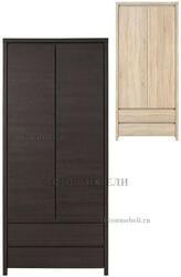 Шкаф платяной Каспиан SZF2D2S