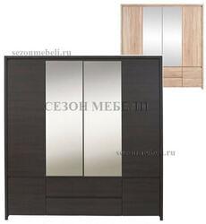 Шкаф платяной Каспиан SZF6D2S