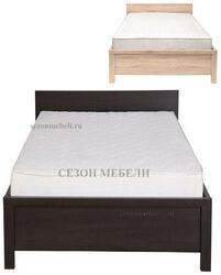 Кровать Каспиан LOZ90х200 дуб сонома (без основания)