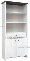 Шкаф - Стеллаж комбинированный Порто REG2D1S