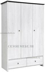 Шкаф платяной Порто SZF3D2S
