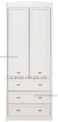 Шкаф платяной Салерно SZF2D3S