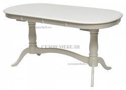 Стол TS Siena (SA-T6EX2L(AV)) Ivory white