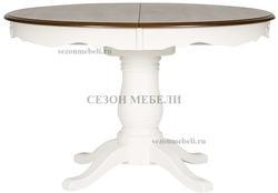 Стол Parisa (PA-T6EX) Ivory white+Antique pine