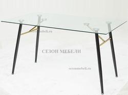 Стол GOLD 140 прозрачный