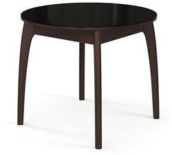 Стол №46 ДН4 венге/стекло черное