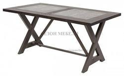 Стол EVELYN 160 шпон+керамика
