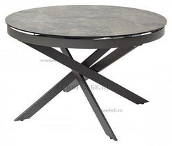Стол TRENTO 120 Italian Ceramic KL-19+Grey 1