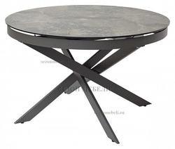 Стол TRENTO 120 KL-19 итальянская керамика/ GREY1 серый каркас