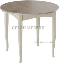 Стол Мемфис Т1 (Слоновая кость+Дуб Сонома трюфель)