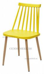 Стул EASEL желтый PP/металл ламинированный
