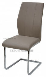 Стул NOVA Light Taupe# 615/ хром