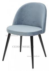 Стул JAZZ пудровый синий, велюр G108-56